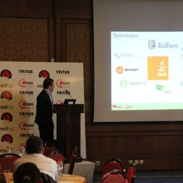 Some photos of Redhat & Tritux seminar about SOA in Hotel Concorde Tunis