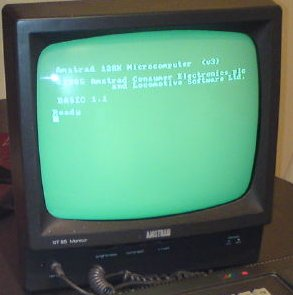 CPC 6128 Green-Scale Monitor