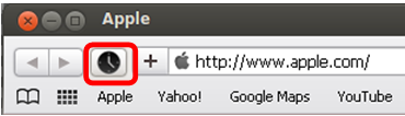 Safari extension toolbar element button icon